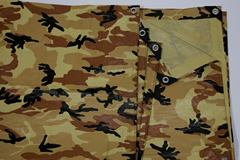 Brown Camouflage Poly Tarp from Tarps Online