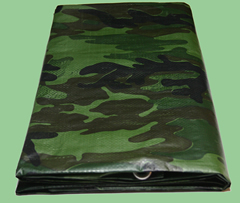 Camouflage Poly Tarp from Tarps Online