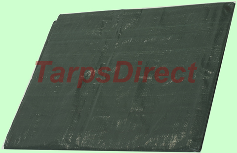 Green Poly Tarp from Tarp Online