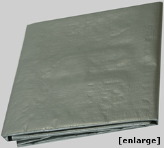Heavy Duty Silver Poly Tarp from Tarps Online