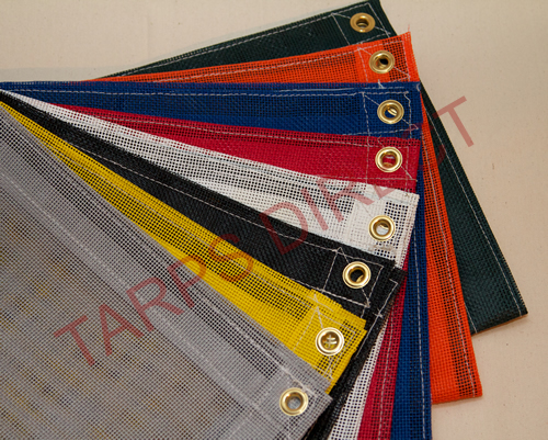 Vinyl Coated Mesh Tarp from Tarps Online