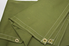 Olive Drab WorkHorse Polyester Canvas Tarps from Tarps Online