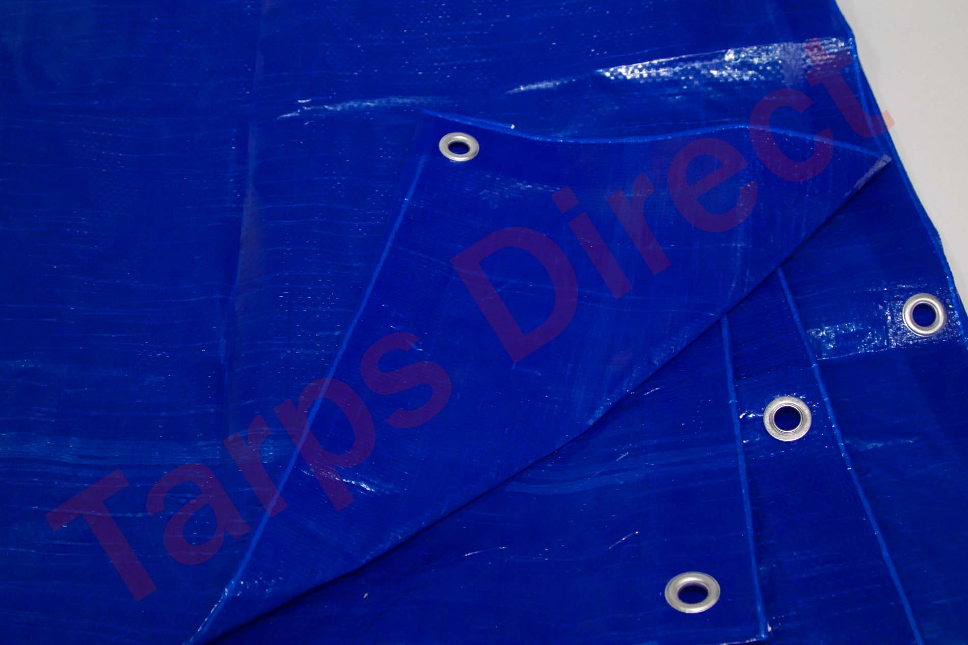 Harpster Tarps 15 ft x 25 ft BLUE Tarp - 2.9 oz. Economy Lightweight Cover Waterproof